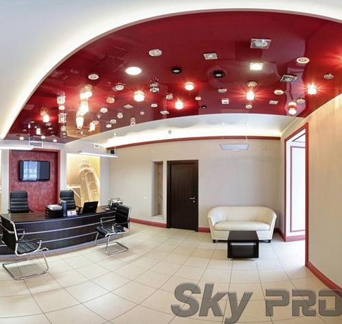 светильники в офисе SkyPRO в Великом Новгороде